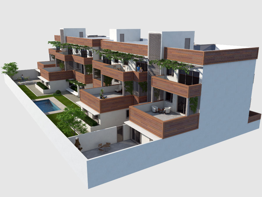 viviendas plurifamiliares